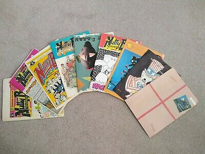 Madness MIS Set Of 9 Nutty Boys Fan Club Comics 1,2,3,4,5, 6,7, 8 And 9 Suggs • 25£