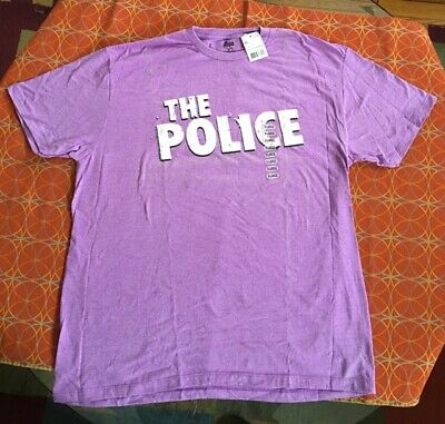THE POLICE Sting Rock Band T Shirt - Size XL - NEW W/TAG - Licensed Product • 10.72£