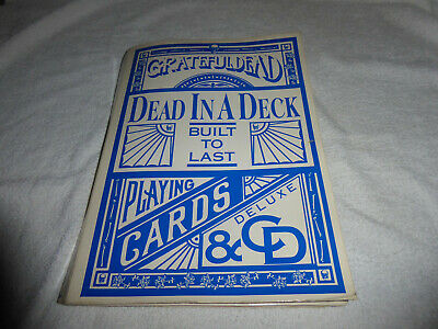 Grateful Dead Cards And Box Dead In A Deck. CD MISSING Built To Last • 7.99£