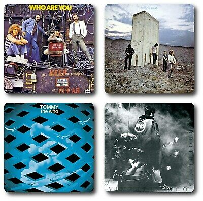 The Who 4 Piece Coaster Set • 7.45£