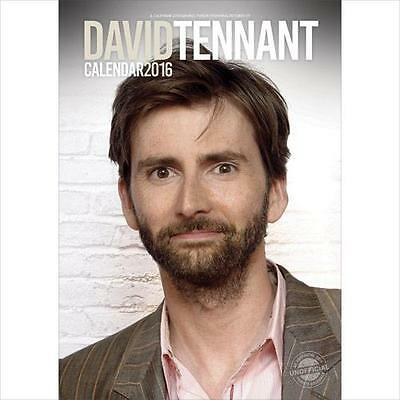 Sale !! Sale !! David Tennant Large Wall Calendar 2016 New And Factory Sealed • 2.99£
