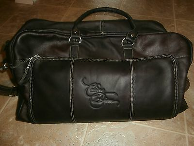 Celine Dion Vip Package Las Vegas Leather Carry Bag 19x6x8 New • 351.19£