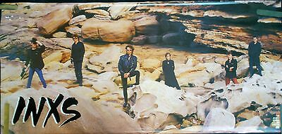 Rare Inxs 1985 Vintage Original Big Music Poster • 28.60£