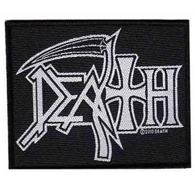 Official Licensed - Death - Logo Sew On Patch Death Metal • 4.25£