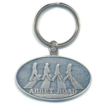 Official Licensed - The Beatles - Abbey Road Crossing Keychain Metal Keyring • 6.99£