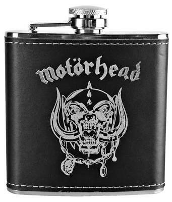 Official Licensed - Motorhead - Warpig Hip Flask Metal Lemmy • 23.99£