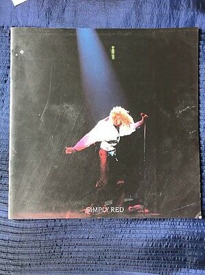 Simply Red A New Flame World Tour Programme 1989 • 5.99£