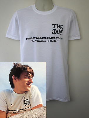 The Jam 1980 Tour T-shirt Worn By Paul Weller Clash Style Council Band Who • 12.99£