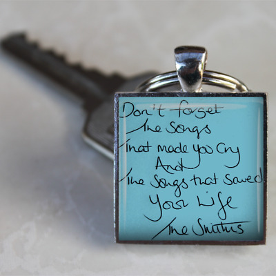 The Smiths Keyring Morrissey Keyring Lyrics Smiths Songs Gift Handmade Unique • 4.75£