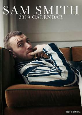 Sam Smith Calendar 2019 Large Uk Wall A3 Poster Size New And Sealed • 1.99£