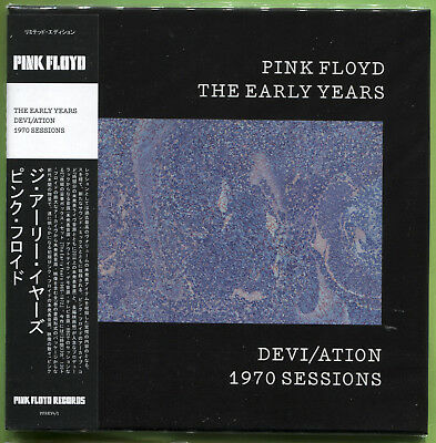 Pink Floyd THE EARLY YEARS. DEVI/ATION 1970 SESSIONS CD Mini-LP Sealed • 12.49£