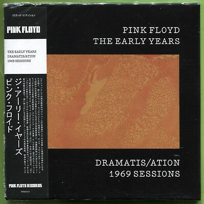 Pink Floyd THE EARLY YEARS. DRAMATIS/ATION 1969 SESSIONS CD Mini-LP Sealed • 12.49£