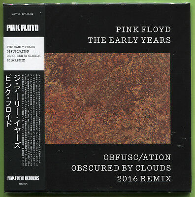 Pink Floyd THE EARLY YEARS. OBFUSC/ATION OBSCURED BY CLOUDS '16 REMIX CD Mini-LP • 12.49£