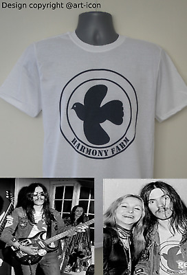 Harmony Farm Festival T-shirt Worn By Lemmy Motorhead Hawkwind Black Sabbath • 12.99£