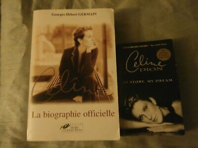 Celine Dion  Rare  Book La Biographie Officielle + My Story My Dream • 8.77£