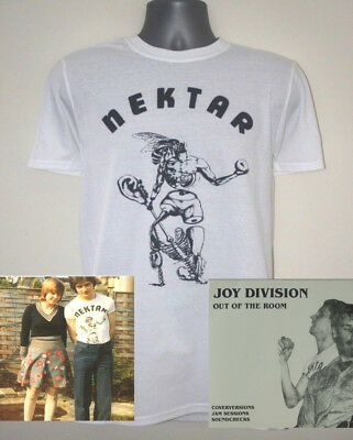 Nektar T-shirt Worn By Ian Curtis Joy Division New Order The Sound Factory • 12.99£