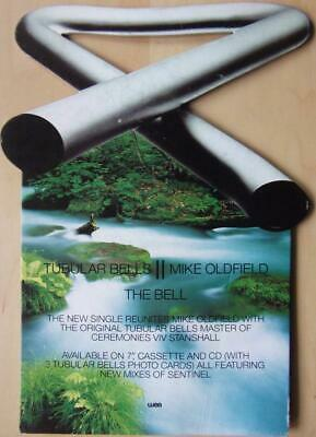 Mike Oldfield The Bell 1993 Rare Record Shop Card Display Promo • 30£