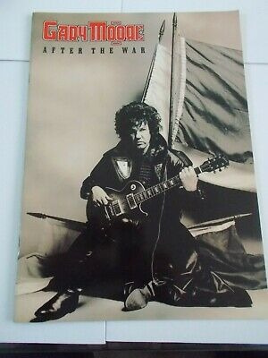 Gary Moore After The War Tour Programme &ticket Hammersmith • 24£