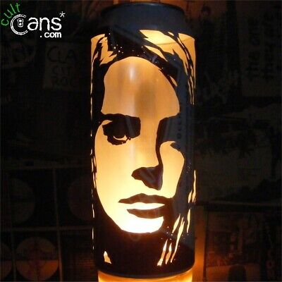 Lana Del Rey Beer Can Lantern! Pop Art Candle Lamp, Video Games, Unique Gift • 13.99£