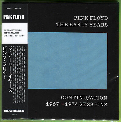 Pink Floyd THE EARLY YEARS. CONTINU/ATION: 1967-1974 BBC SESSIONS CD Mini-LP • 12.49£