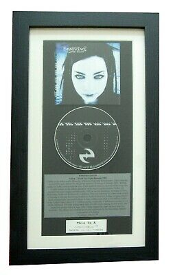 EVANESCENCE Fallen CLASSIC CD Album TOP QUALITY FRAMED+EXPRESS GLOBAL SHIPPING!! • 44.95£