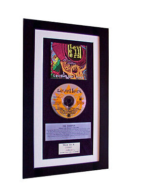 LEVELLERS Levelling The Land CLASSIC CD GALLERY QUALITY FRAMED+FAST GLOBAL SHIP • 44.95£