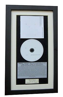 THE 1975 Brief Online Relationships CLASSIC CD Album  FRAMED+EXPRESS GLOBAL SHIP • 44.95£