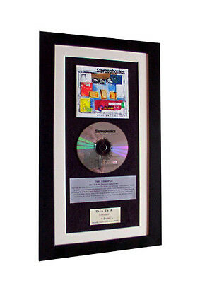 STEREOPHONICS Word Gets Around CLASSIC CD Album QUALITY FRAMED+FAST GLOBAL SHIP • 44.95£