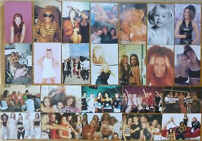 SPICE GIRLS OFFICIAL PHOTO CARDS X 24 See Photo's Lot No7 • 11.99£