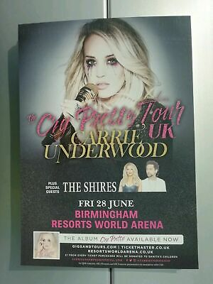 CARRIE UNDERWOOD CRY PRETTY TOUR 2019 FLYERs X3 • 2£