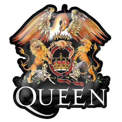 Official Licensed - Queen - Crest Metal Pin Badge Rock Freddie Mercury • 10.99£