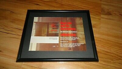 LLOYD COLE Rattlesnakes-framed Original Press Release Promo Advert • 12£