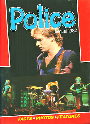 The Police  ANNUAL 1982 Hardcover Book Ex Condition • 5.94£