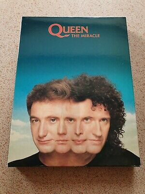 QUEEN -The Miracle- Uber Rare UK Promo Box Set With Sampler Tape, CD, Book*MINT! • 350£