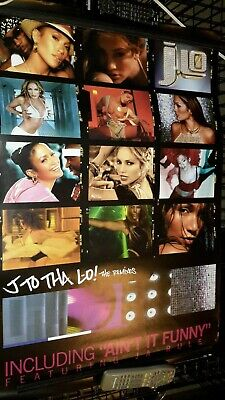 J Lo -J To The Lo! The Remixes-1 Poster- 24 X 3 6 Inches - Very Rare-OOP!!!! • 19.74£