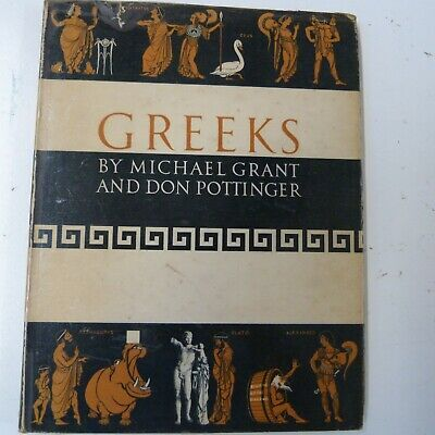Books GREEKS Michael Grant, Don Pottinger, 1958 • 5£