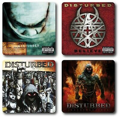 Disturbed 4 Piece Coaster Sets • 7.45£