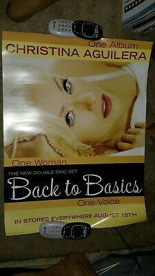 Christina-aguilera-back-to-basics-1 Poster-18x24inches-nmint • 14.29£