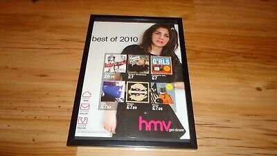 MARINA & THE DIAMONDS-2010 Framed Original Press Release Promo Advert • 12£