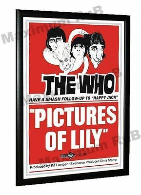 The Who Pictures Of Lily Promo Poster 1967 • 9.95£