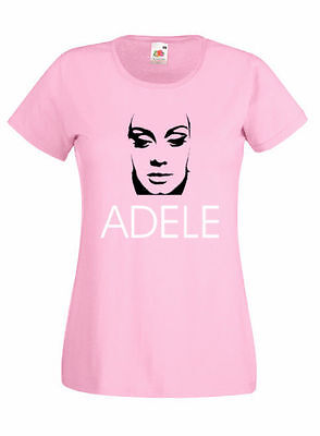 Adele Lady Fit T Shirt. 8 Colours. Brand New. All Sizes. • 10.95£