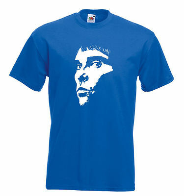 Stone Roses Ian Brown  Face Tee Shirt  - 10 Colours - Brand New - All Sizes • 10.95£