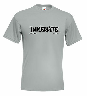 Immediate Records T Shirt Small Faces 60's Pop - 10 Colours - BRAND NEW • 10.95£