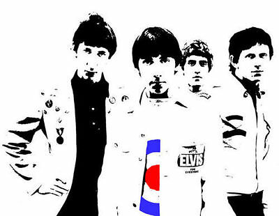The Who Mod Target Full Colour Glossy Poster • 11.95£