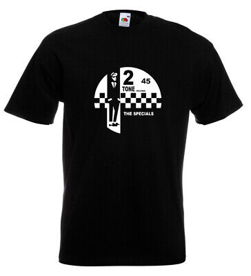 2 Tone Records T Shirt The Specials SKA Northern Soul Reggae Madness • 10.95£