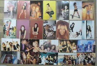 SPICE GIRLS OFFICIAL PHOTO CARDS X 24 See Photo's Lot No8 • 11.99£