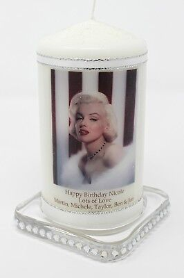 Marilyn Monroe Unique  Designer Gift Limited Edition | Cellini Candles #1 • 13.99£