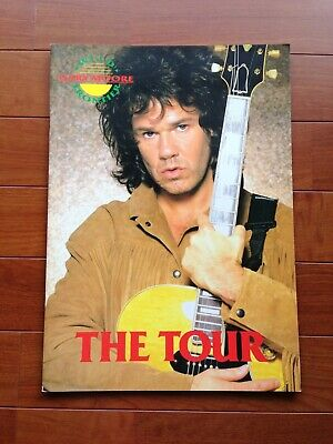 Gary Moore Japan Tour '87 Official Program Book Heavy Metal Hard Rock Thin Lizzy • 29.99£