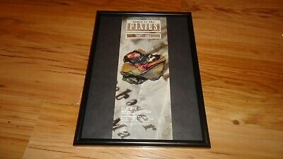 PIXIES Death To The Pixies-framed Original Promo Advert • 12£