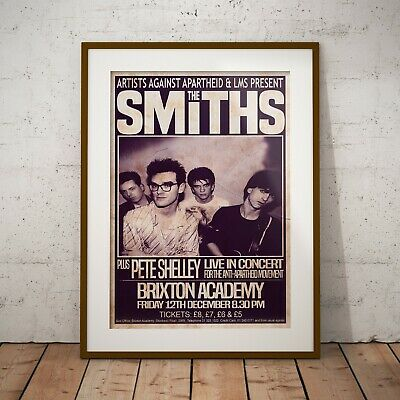 The Smiths 1986 The Final Concert Poster Framed Or 3 Print Options EXCLUSIVE • 16.99£